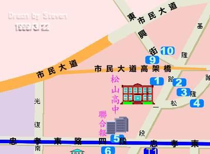 交通路線圖1
